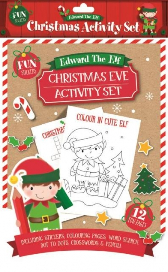 Things To Do On Christmas Eve.Details About Christmas Eve Elf Activity Pack Stickers Word Search Puzzles Colouring Xmas Gift